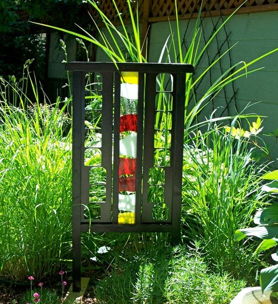 Unique Garden Art: Garden Trellis Garden Screen Unique Garden Decor Black