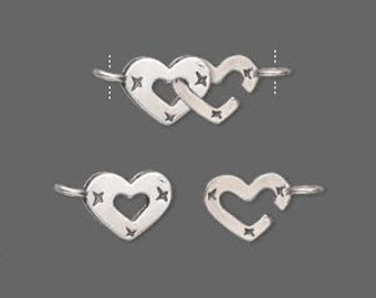 Lot - Sterling Silver Clasps, Beads, Charms and More!