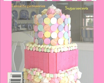 Magazine Bag Duct Tape ANA DELIGHT Sweets for the Sweet