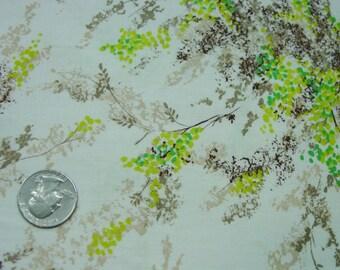 "Pretty Piece Vintage Cotton Fabric, 35 1/2"" Wide, x 32"""