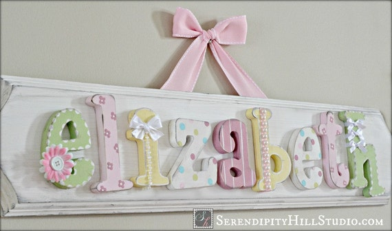 Items Similar To Custom Name Plaque Made To Order Wall