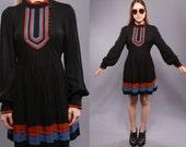 Black Mod Baby-Doll Dress