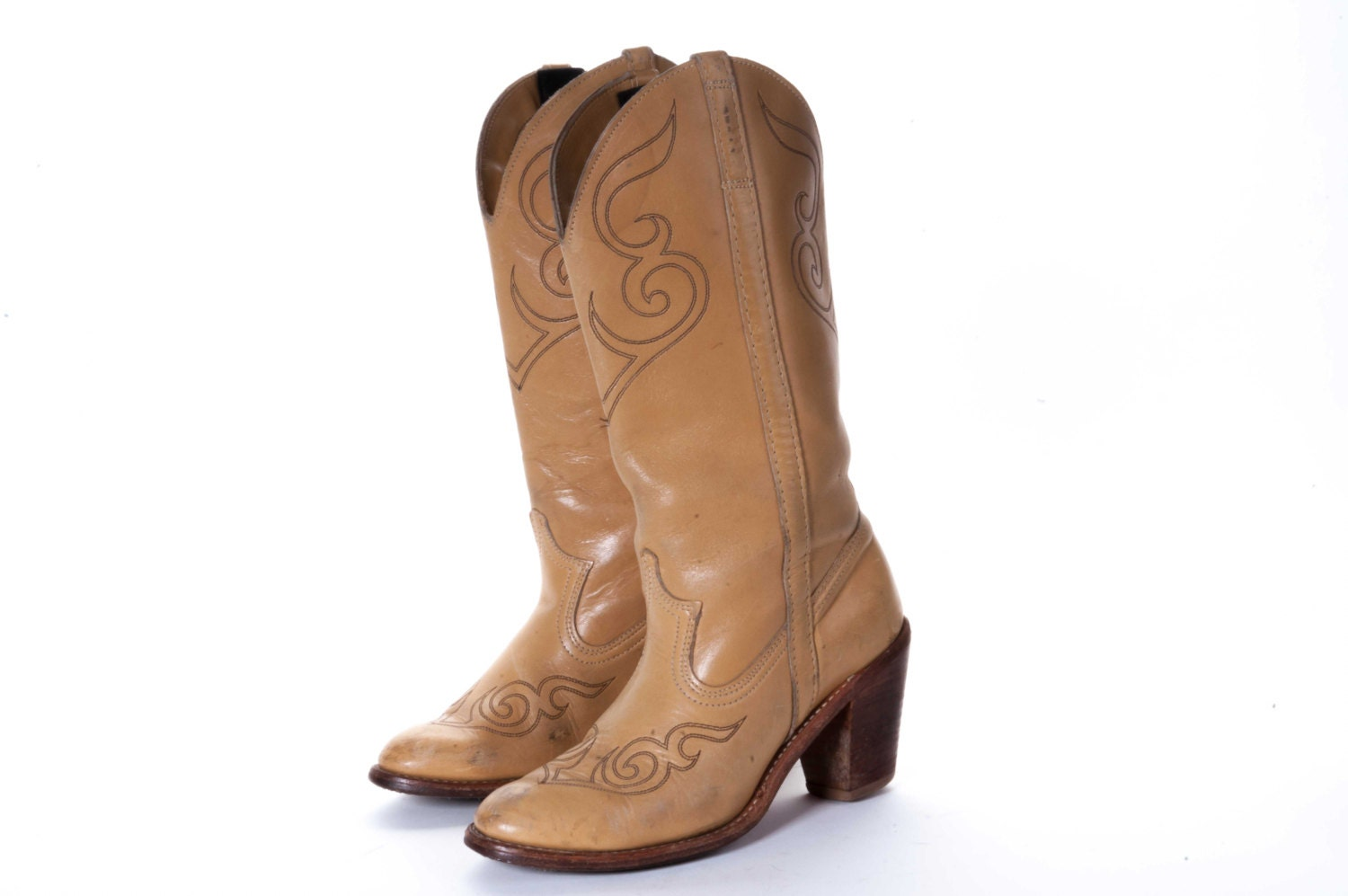s high heel cowboy boot size 6 5 by