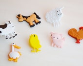 Miniature Farm Animal Terrarium Accessories ~ Decorate your Terrarium or Miniature Garden with the cute Farm Animals - Crafting Supply