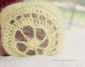 Crochet Baby Bonnet Vintage Style  and Legwarmers PDF Pattern/ Dowload Newborn Easter