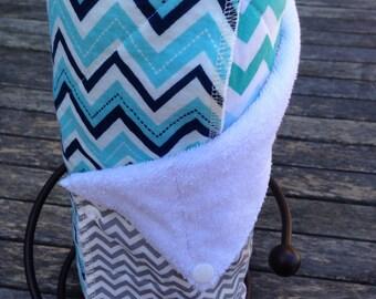 Reusable set of Unpaper Towels Half size set of 12