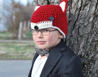 Anderson Fox Crochet Hat