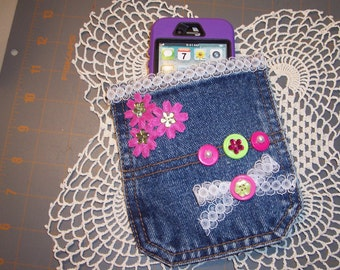 Cellphone Jean Pocket Case