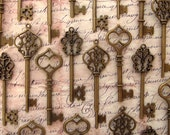 The Bradley  Collection - 30 Skeleton Keys in Antique Bronze - Perfect for Wedding Escort Cards and More