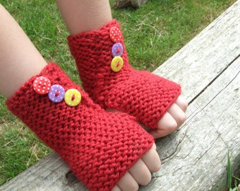 Children's Learn to Knit Kit - Handwarmers