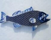Metal Fish Wall Art -  Bud Light Bottlecap Grouper Fish (Large)