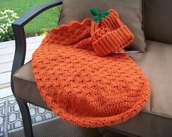 Baby Pumpkin Cocoon Set