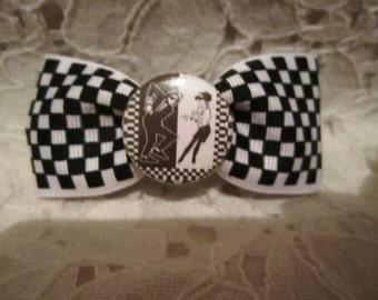 Checkered Ska Bow