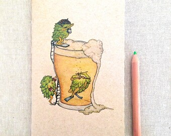 Hops in Beer NOTEBOOK
