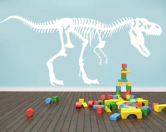 T-Rex tyrannosaurus rex wall decal
