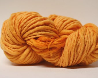 Thick and Thin Yarn Merino Slub TTS tts(tm) Fine 33tts13019 Creamsicle Orange