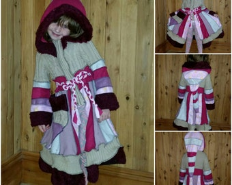 custom made elf coat..... mini recycled and super cute ..