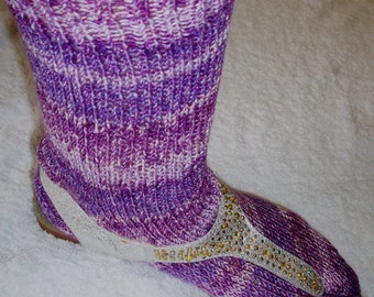 Free Knitting Patterns For Socks With Toes : FREE KNITTING PATTERNS SPLIT TOE SOCKS - VERY SIMPLE FREE ...