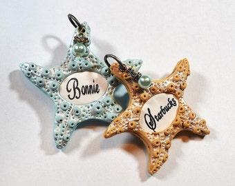 Starfish Custom Dog I.D. Tag