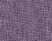 Linen Look Fabric - Durable and Attractive- Linen and Polyester Combination - Upholstery, Drapery, and Bedding Fabric - Color: Lilac