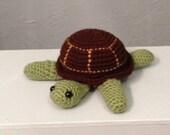 Crocheted Turtle - Amigurumi