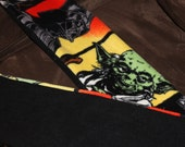 Star Wars Mens Scarf Hans Solo,Darth Vader, Yoda 60 inches long and 7 inches wide