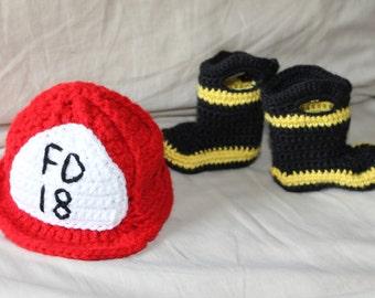 Baby Fireman Set