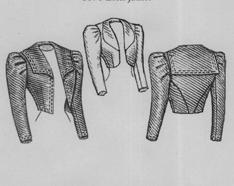 TV498 - Truly Victorian #498, 1898 Eaton Jacket Sewing Pattern