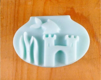 Fish soap: Goldfish In A Bowl Soap Bar - Unique Decorative Guest Soap or Kid Soap, You Choose Color & Scent