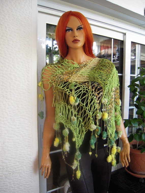 sale scarf handmade knitted scarf stevie nicks style