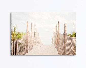 Neutral Wall Art neutral beach grass canvas wrap pale white light beige green