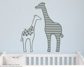 Giraffes Wall Decal