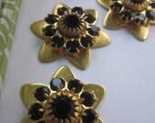 Swarovski Garnet Star Flower