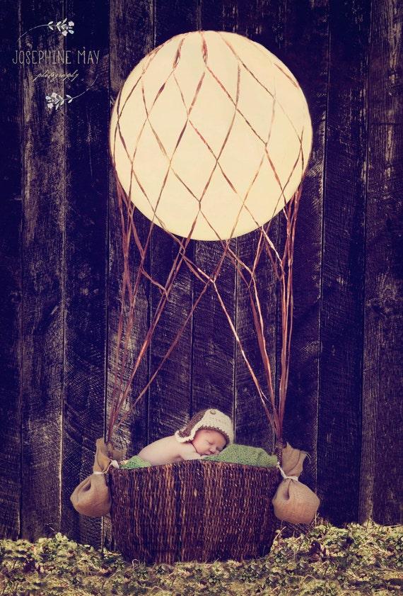 Hot Air Balloon Theme Decoration Net