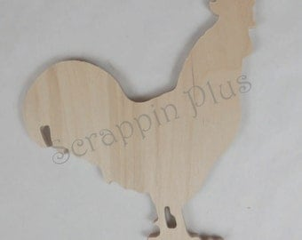 Rooster Shape 1/2 inch