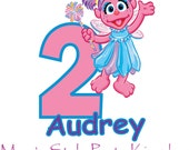 Abby Cadabby iron on transfer for white t-shirts ps