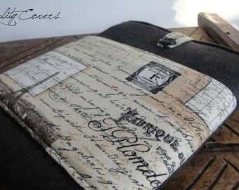 Customizable Padded Sleeve for tablet and laptop - Customizable for color Fabrics and Size iPad / Tablet / Laptop