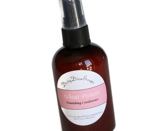 Moisturizing Leave in Conditioner with Panthenol, Argan and Wheat Germ Protein