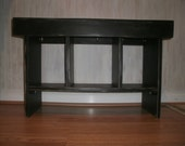 wooden bench 30' entry bench/ tv stand/coffee table/ hallway bench