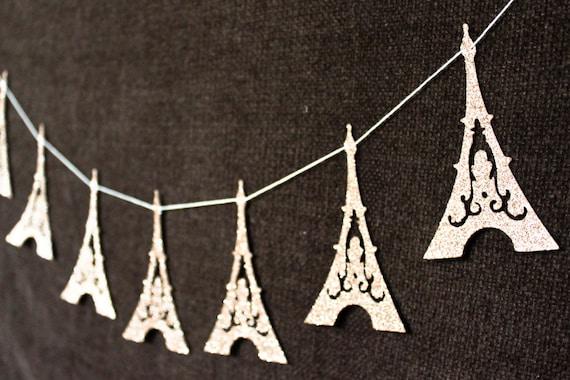 Eiffelturm paris deko girlande eiffelturm ammer hochzeit Dekoration frankreich