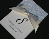 Silver Bling Table Number reserved for Cindy Metcalf