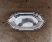 Vintage silver plate tray