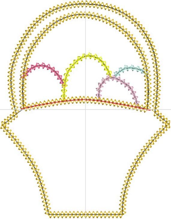 macrame easter basket instructions