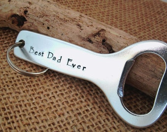 Personalized Bottle Opener - Father's Day Bottle Opener - Father's Day Gift - Dad bottle Opener
