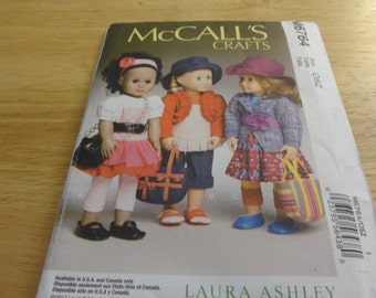 McCall's APattern M6764 for 18 inch doll clothes