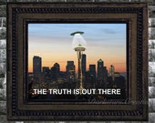 The truth is in Seattle! X-Files Mini-Print