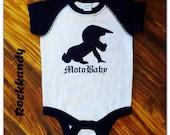 Moto Baby Raglan Bodysuit