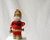 Wind up Santa Claus, Mechanical Santa, bell ringer