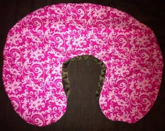 Boppy Nursing Pillow Cover With Zipper Closure By Sewmomma2