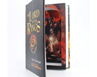 Large Hollow Book Safe - Lord of the Rings by J. R. R.Tolkien Stash Book